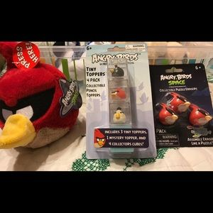 Angry Birds Collectibles Set + Bonus 2 Birds